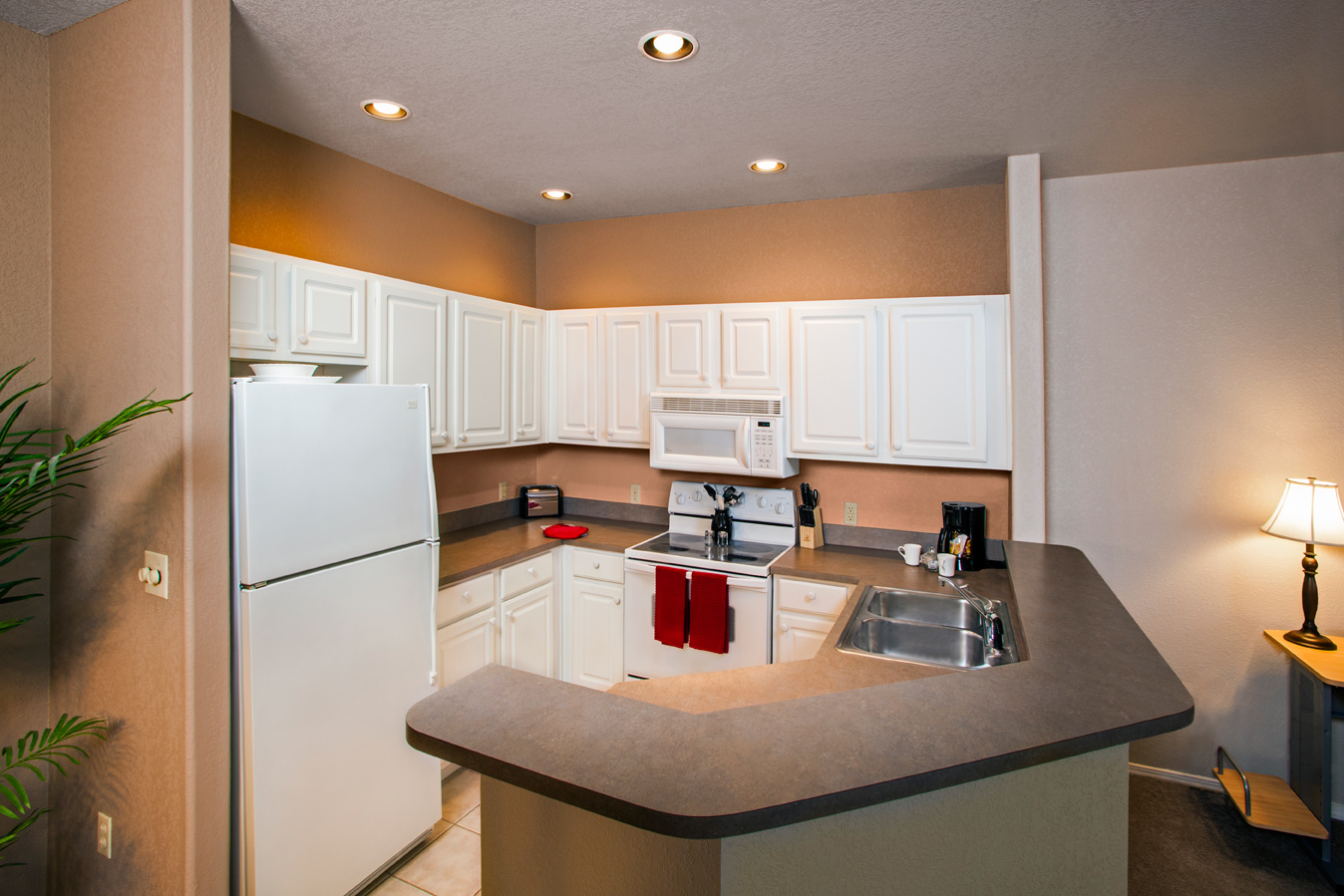 One Bedroom Apartment – Kitchen